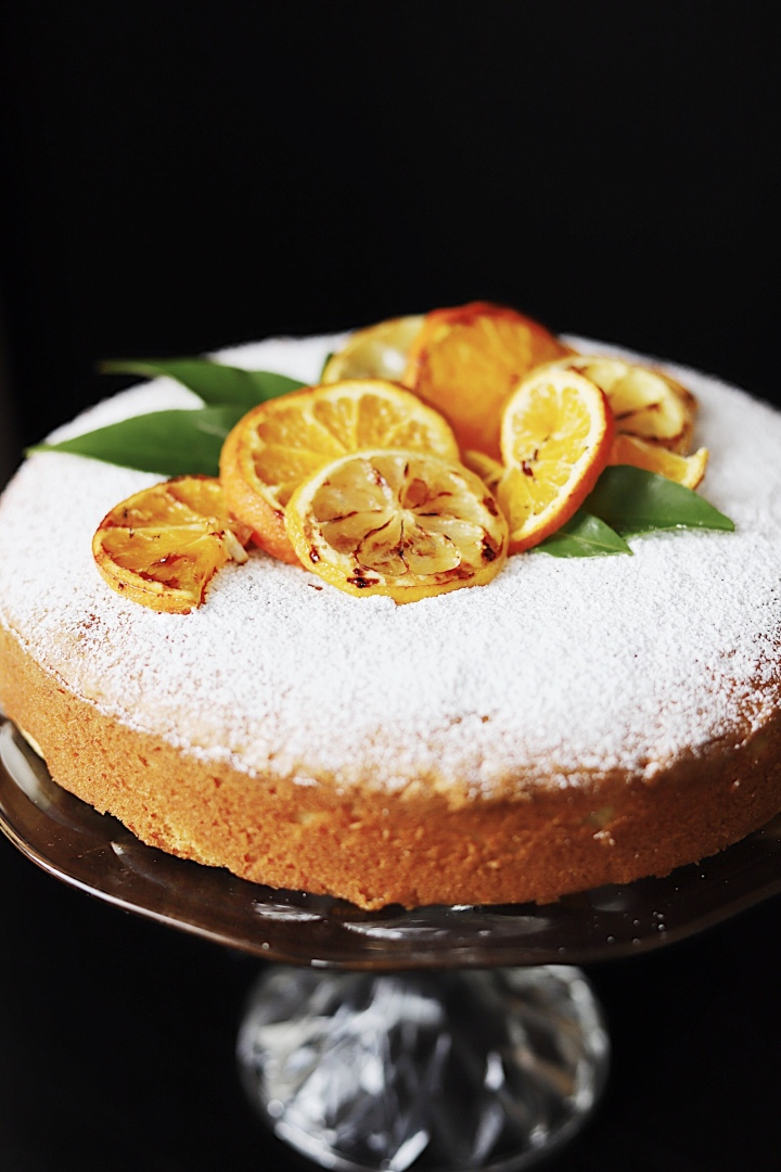 Clementine Vasilopita (Greek New Year's Cake)