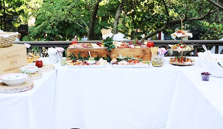 Casual Catered Backyard Wedding