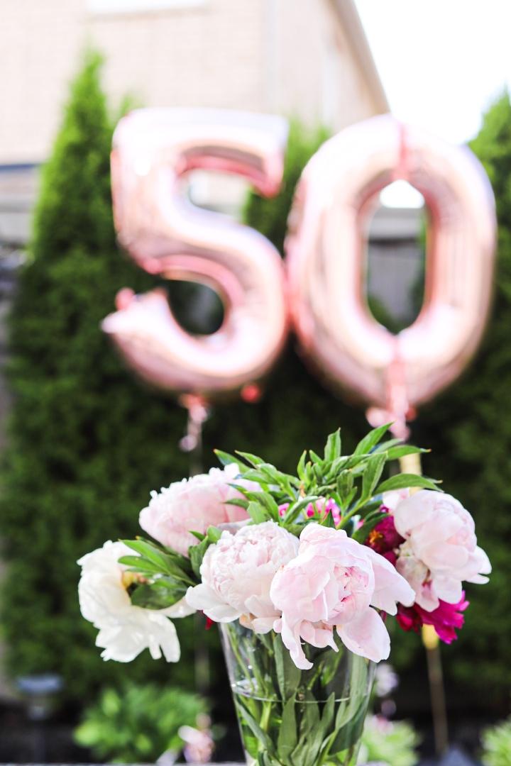French Inspired 50th BirthdayCelebration
